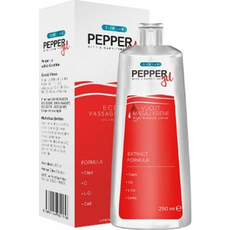 Slimlab Pepper Gel Biber Jeli